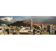 A VIEW OVER SANA'A Photographic Print