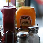 Condiments by ShahnaChristine .