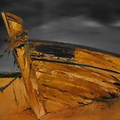 Stormy Shipwreck by Shona Baxter