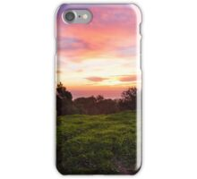 Scouting Sunsets in January. iPhone Case/Skin