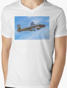 B-25J Mitchell 44-86893A N6123C Mens V-Neck T-Shirt