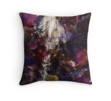She Leaves Behind Her Shadow of Pain  Throw Pillow