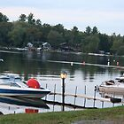 Lake marina at dusk. by ephotodesigner