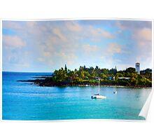 Hawaii's Ocean Poster