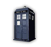 Doctor who TARDIS Artistic sketch Photographic Print