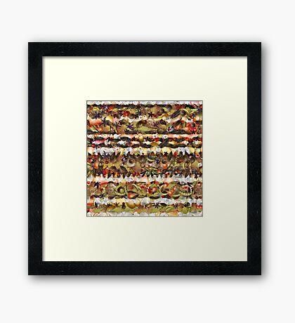 Vegetable Garden Framed Print