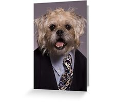 Headed for the Corner Office Greeting Card