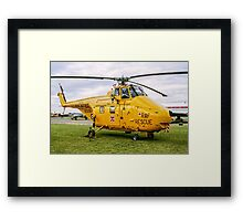 Westland Whirlwind HAR.10 XJ729 Framed Print