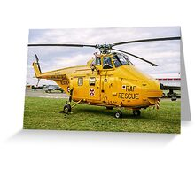 Westland Whirlwind HAR.10 XJ729 Greeting Card