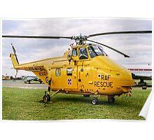 Westland Whirlwind HAR.10 XJ729 Poster