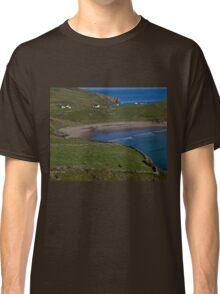 Traloar Beach, Muckross Head, Donegal Classic T-Shirt