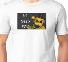 Five NIghts at Freddy's - Golden Unisex T-Shirt