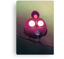 the dripping bird Canvas Print