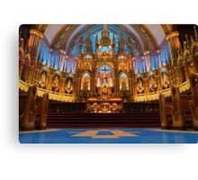 Notre Dame de Montreal I Canvas Print