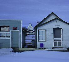 Sukanen #4 - Telephone and Post Office, Baildon Municipal Office by David Jenkins