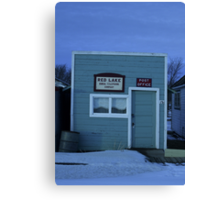 Sukanen #5 - Telephone and Post Office Canvas Print