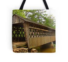 Poole's Mill Covered Bridge Tote Bag