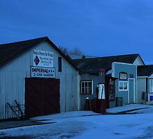 Sukanen #7 - 3-Star Service Station, Telephone & Post Office, Baildon Municipal Office, Radio Shop by David Jenkins