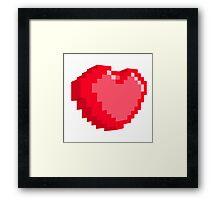 Bit of my heart Framed Print