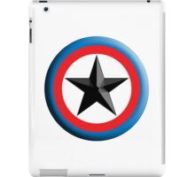 Bulls Eye, Right on Target, Roundel, Archery, Star, Badge, Buttton iPad Case/Skin