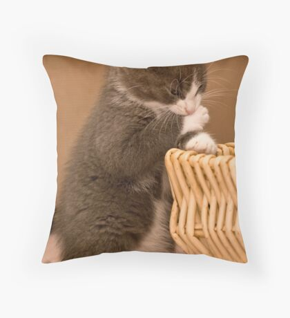 RRR, I Hate This Hand Throw Pillow