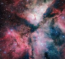 The Carina Nebula - AMAZING Giant HD Space Image by verypeculiar