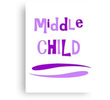 Middle Child Canvas Print