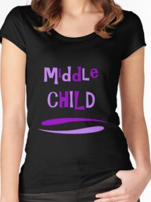 Middle Child Women's Fitted Scoop T-Shirt