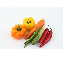 Vegetables Photographic Print
