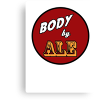 Body by Ale Canvas Print