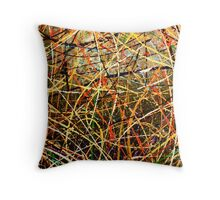 line one Throw Pillow