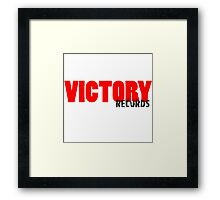 Victory Records Framed Print