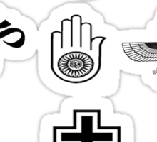 Unity in Diversity Sticker