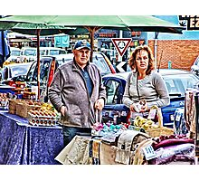 Market Day, Altona Beach, Victoria, Australia Photographic Print