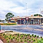 Melissa Cafe, Altona Beach, Victoria, Australia by Helen Chierego