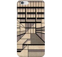 Birmingham Central Library iPhone Case/Skin