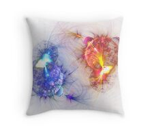 The Eternal Chase Throw Pillow
