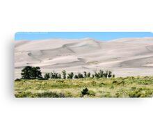 #529    Great Sand Dunes Of Colorado Canvas Print