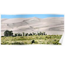 #529    Great Sand Dunes Of Colorado Poster