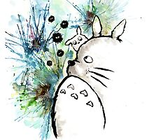 Totoro by faithintoart