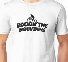 Rockin' the Mountains Mountainbiking Unisex T-Shirt