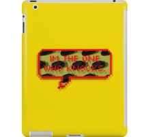 im the one who knocks  iPad Case/Skin