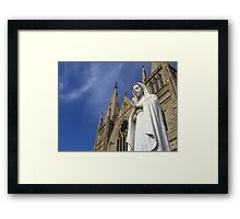Mary Mary Quite Contrary Framed Print