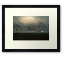 Edge of Eternity Framed Print