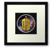 DW - Doctor Who Cool graphic for all products Framed Print
