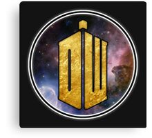 DW - Doctor Who Cool graphic for all products Canvas Print