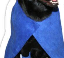 SuperHero Dog Sticker