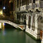 One of the many canals, Venice by Steve Van Aperen