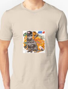 Montage Parody Cat (Explosion) T-Shirt