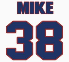 National football player Mike Dingle jersey 38 by imsport